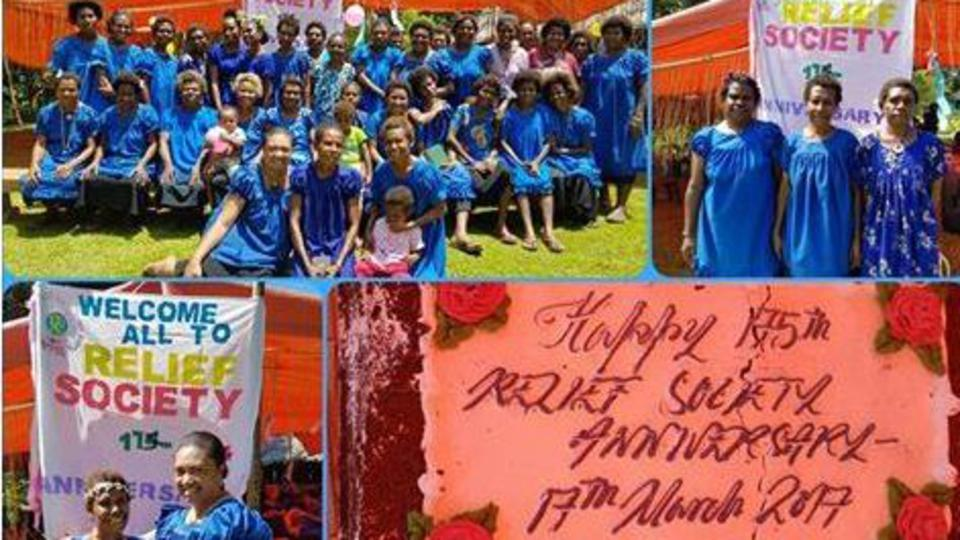 175th Relief Society Celebration in Madang Papua New Guinea